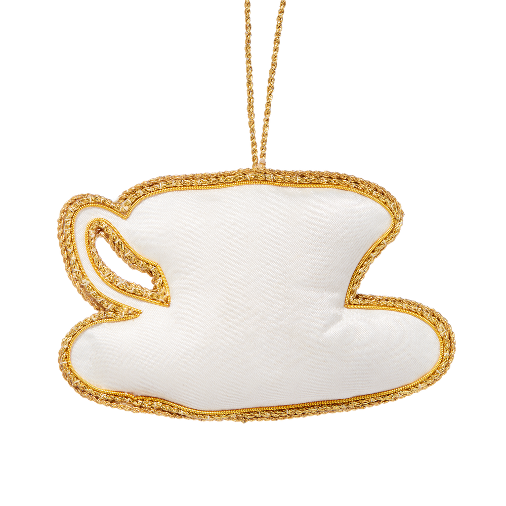 Roosevelt China Teacup Ornament