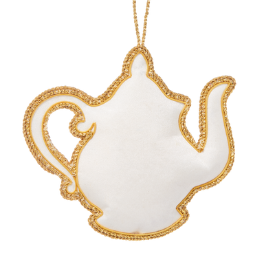 Roosevelt China Teapot Ornament-Back