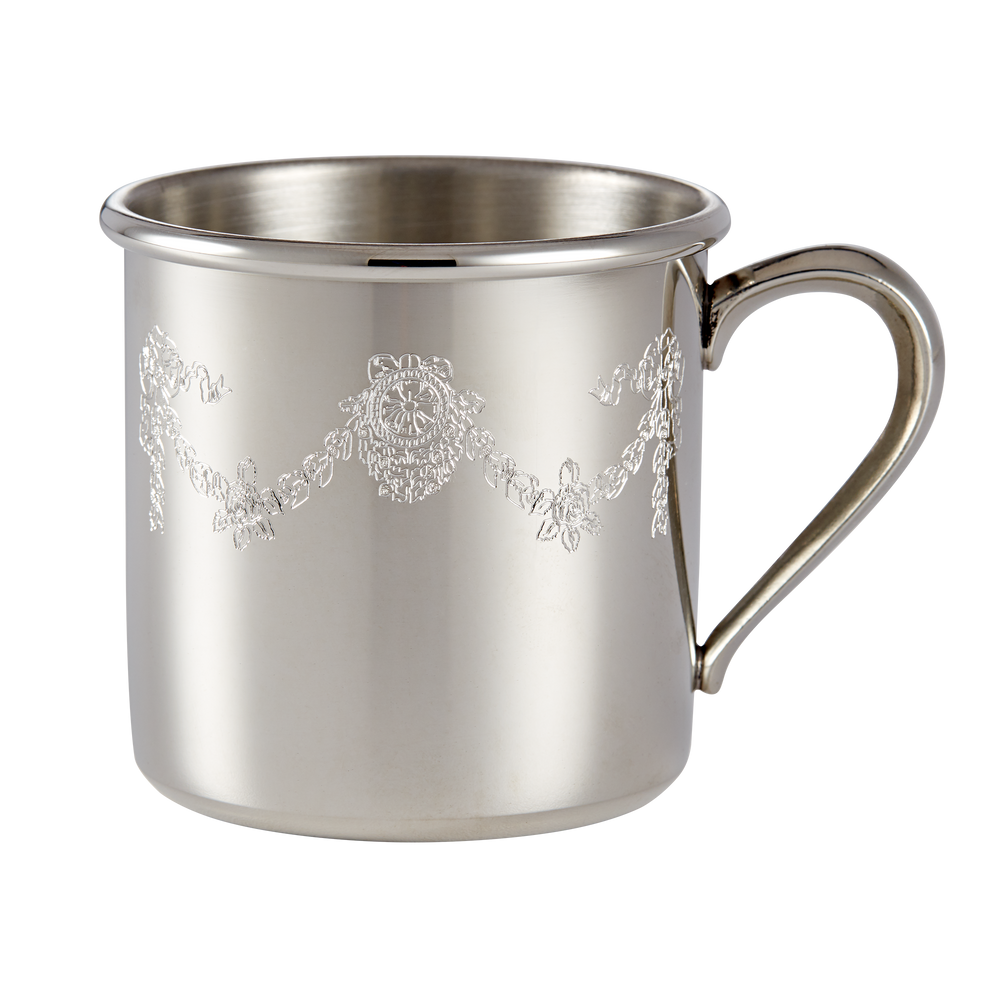 Salisbury Pewter North Portal Scrollwork Baby Cup