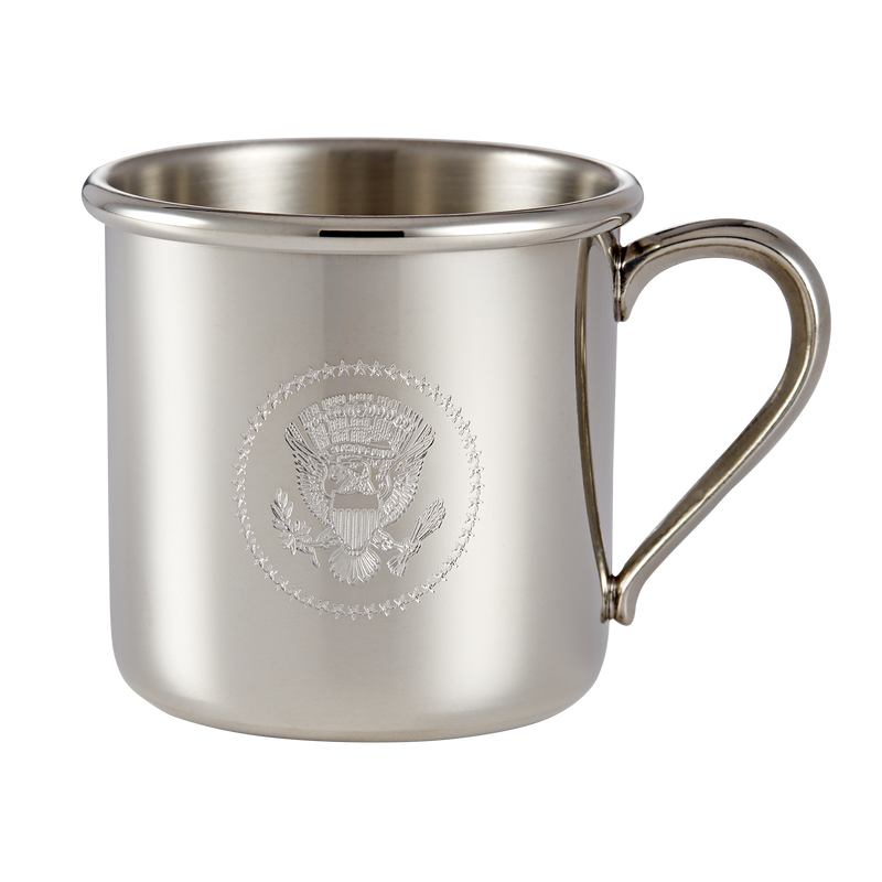 Salisbury Pewter Truman Seal Baby Cup-Front