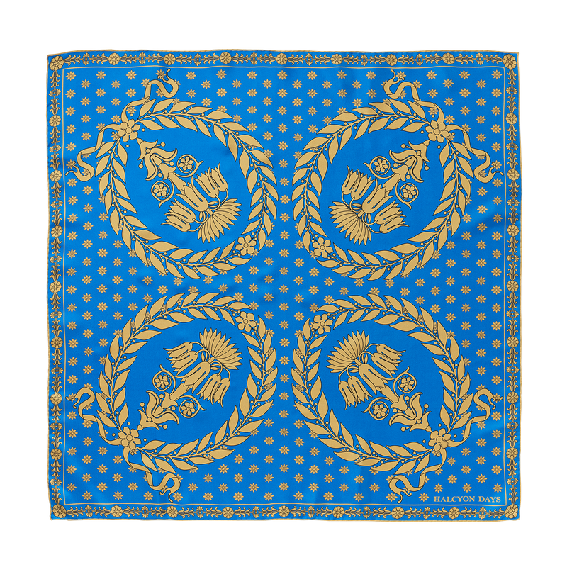 Blue Room Printed Scarf