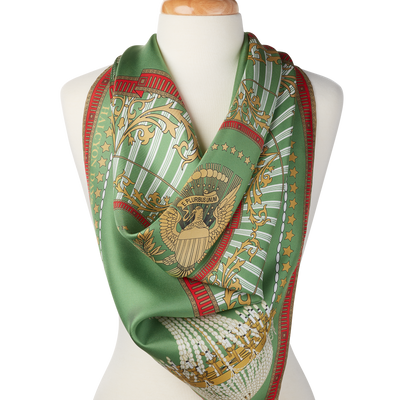 Green Room Printed Scarf