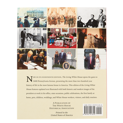 The Living White House Book-Back Cover