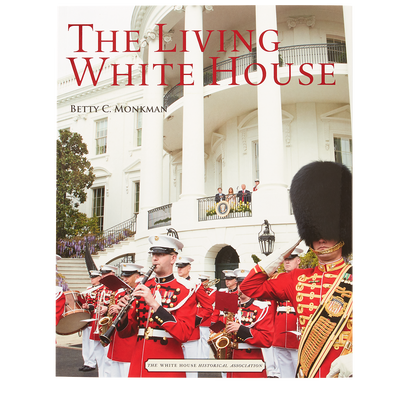 The Living White House Book-Front Cover