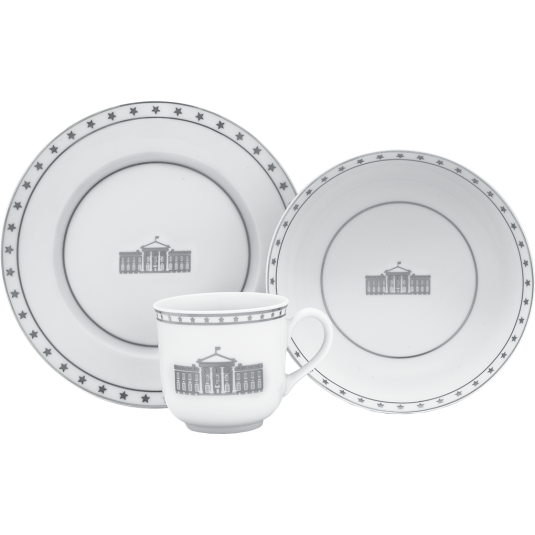 Three-Piece Baby Dish Set