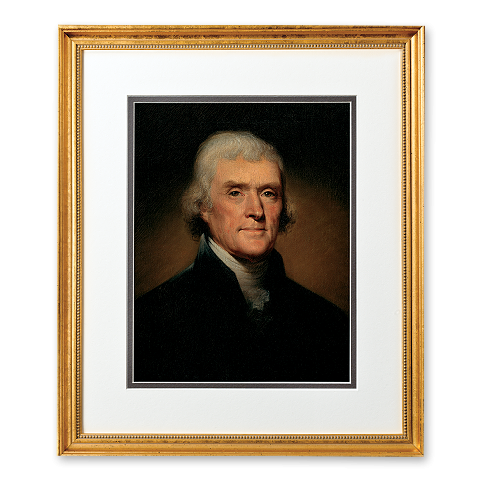 President Thomas Jefferson Portrait