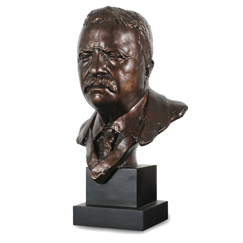 President Theodore Roosevelt Bust