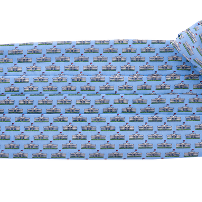 Vineyard Vines Bow Tie and Cummerbund Set (Light Blue)