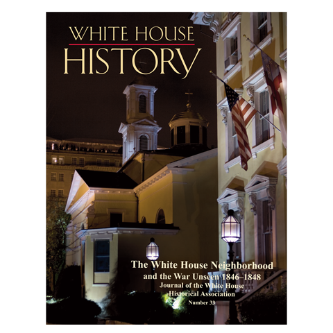 third in series of publications featuring the white house neighborhood