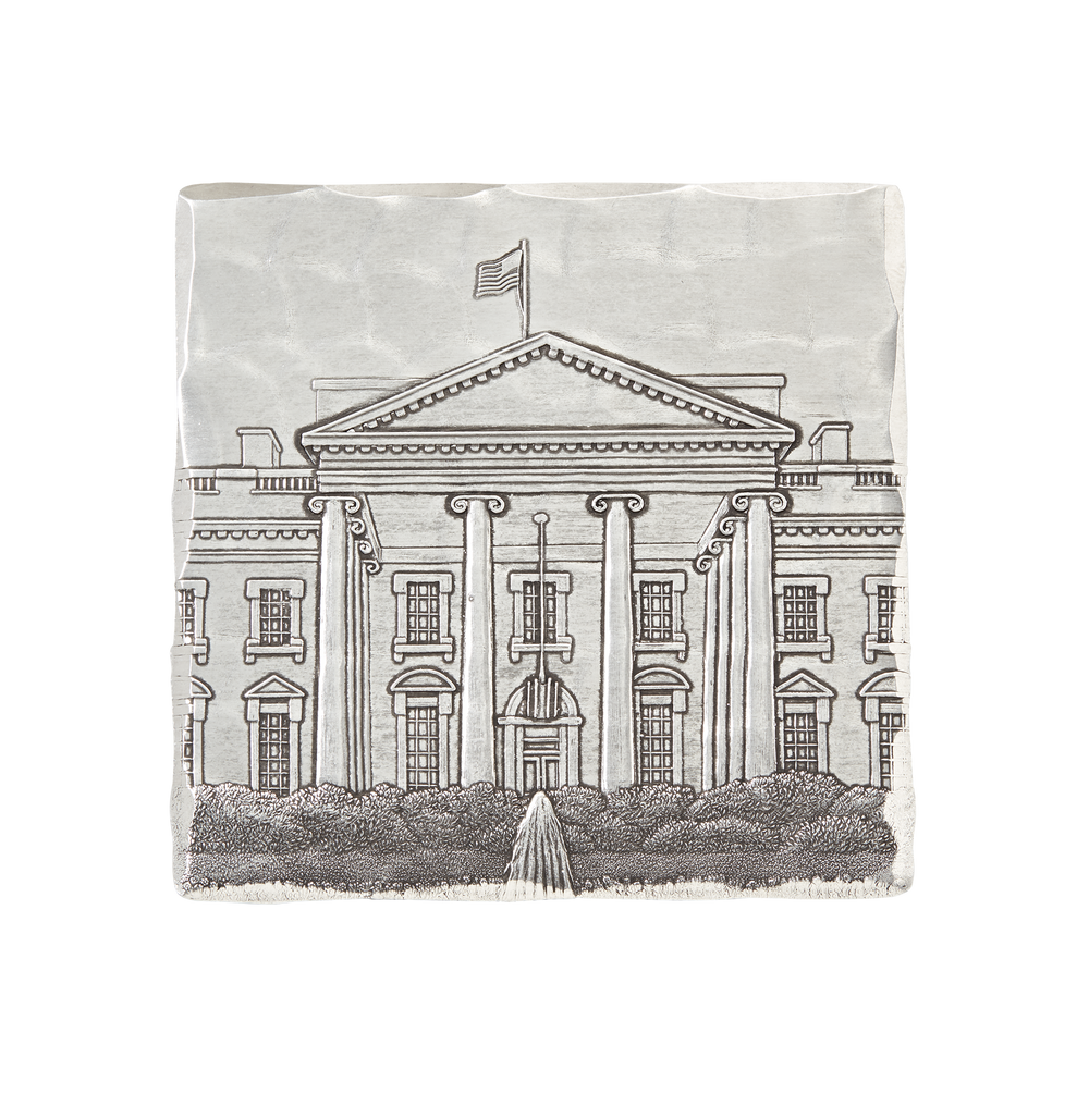 Engraved White House Coaster Set