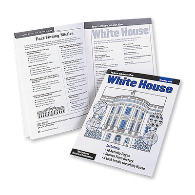 The White House Activity Book