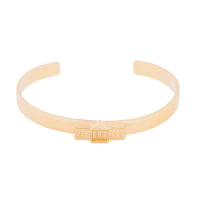 White House Gold Plated Cuff Bracelet