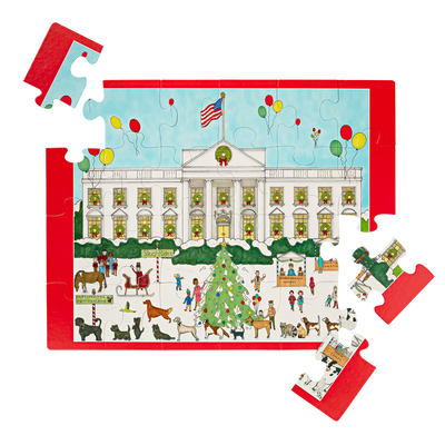 White House Holiday Carnival Children's Puzzle