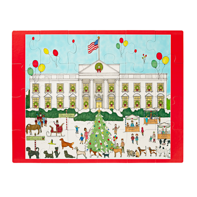 White House Holiday Carnival Children's Puzzle-Completed