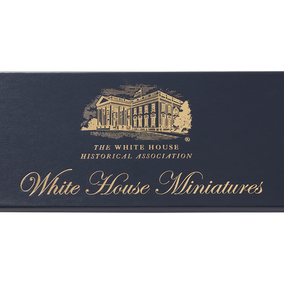 White House miniature ornaments collection-box