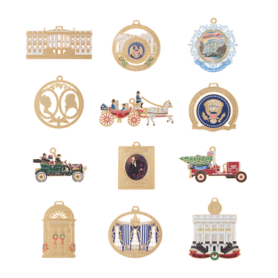 White House miniature ornaments collection