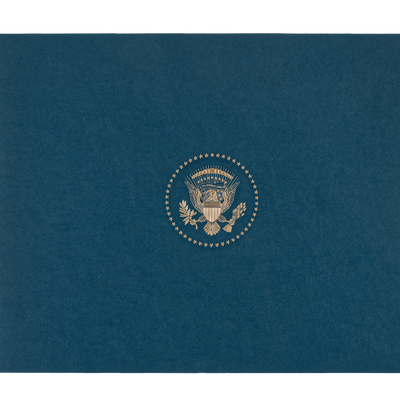 The White House, North Elevation Print