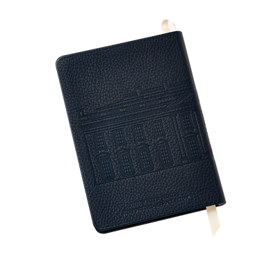 Embossed White House Notebook-Back