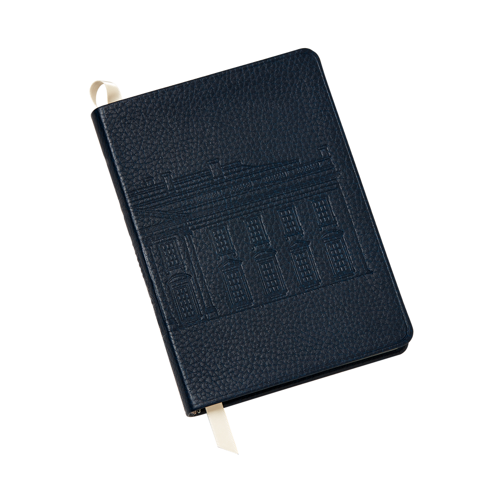 Embossed White House Notebook-Front