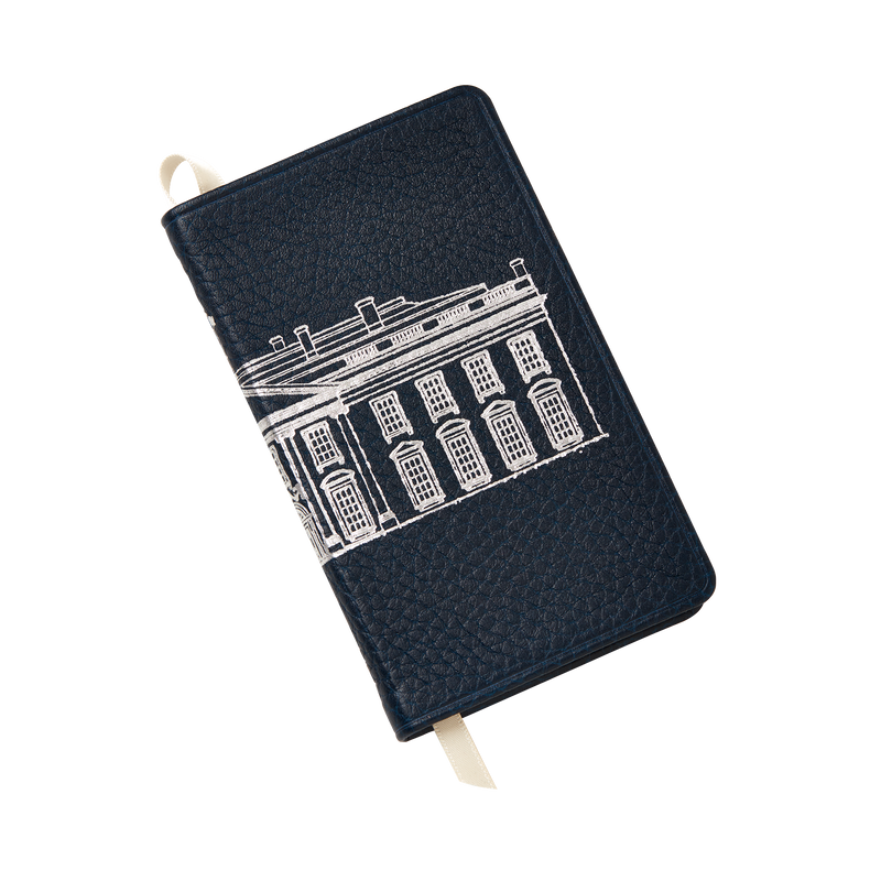 Embossed White House Pocket Journal-Front