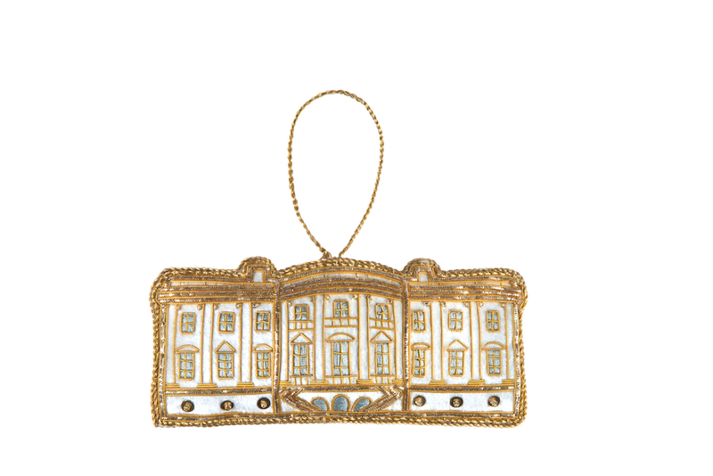 White House Ornament-Front