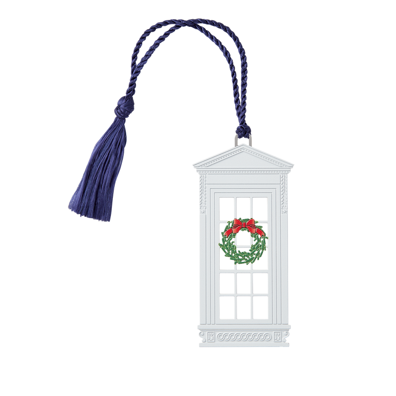 Christmas North Portico Windows Bookmark