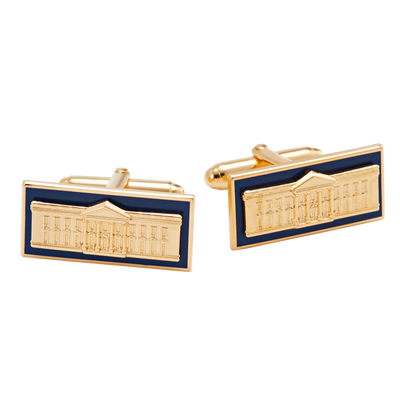 White House Enamel Cuff Links