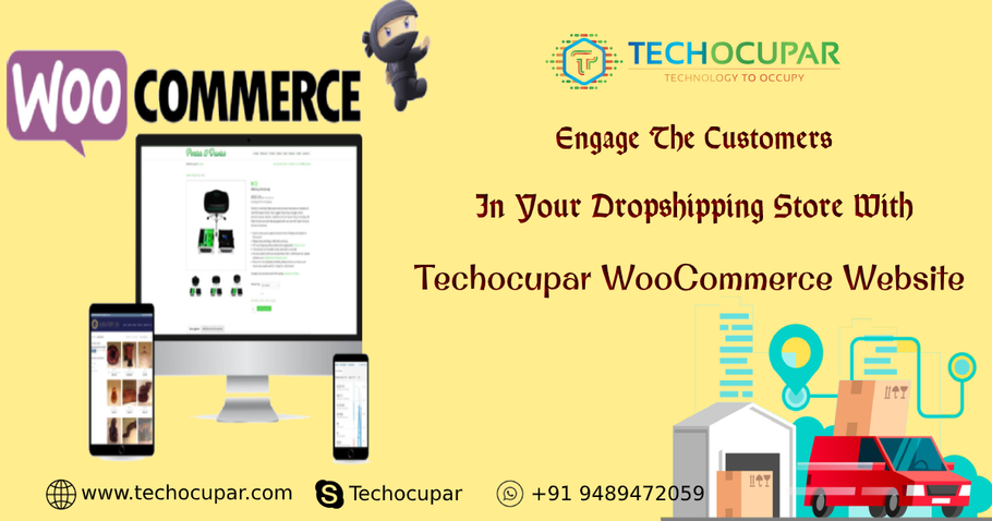 Engage The Customers In Your Dropshipping Store With Woocommerce