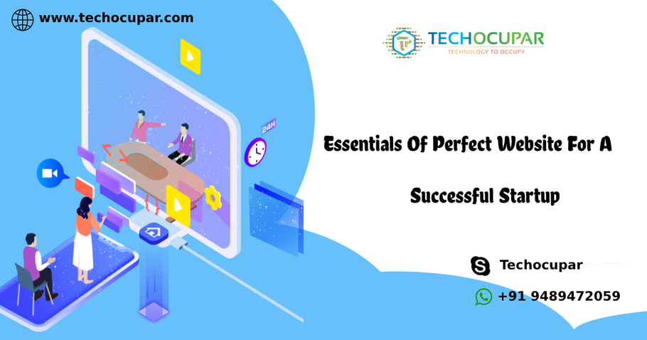 Essentials Of Perfect Website For A Successful Startup