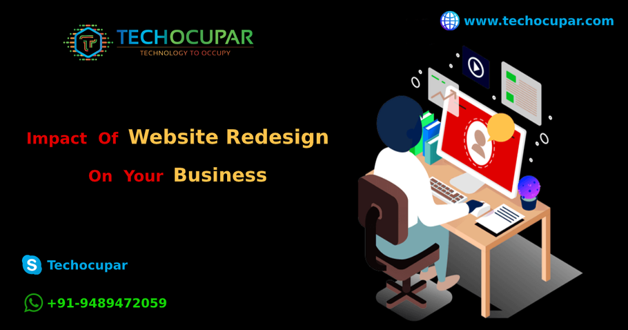 Impact Of Website Redesign On Your Business