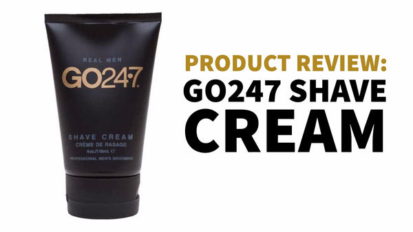 go 247 shave cream product review