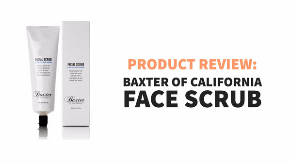 baxter face scrub product review