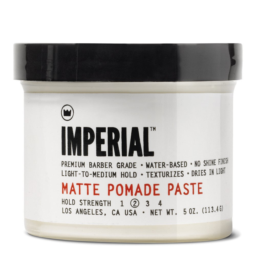 Hair Styling Paste Imperial Matte Pomade Paste  The Emporium Barber Hair Styling .