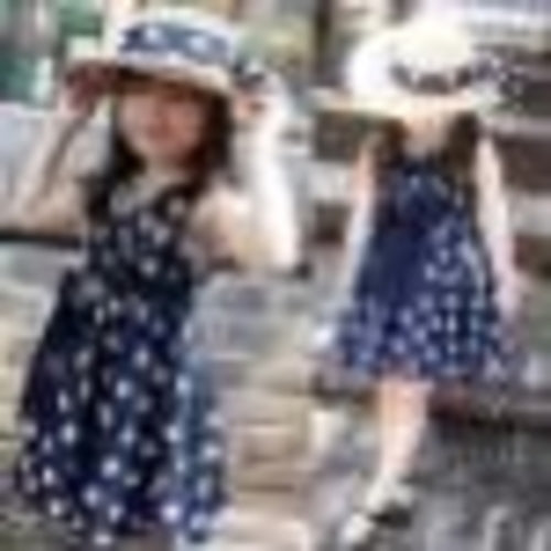 New 1PC Children Clothing Sleeveless Dress