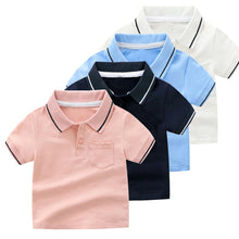 Load image into Gallery viewer, Baby & Toddler Polo T-Shirt