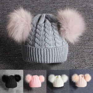 Baby & Children Knitting Wool Beanie