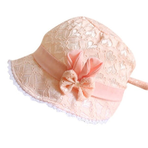 Toddler Solid Bowknot Hat