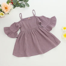 Load image into Gallery viewer, Cute Baby Girl Summer Dress