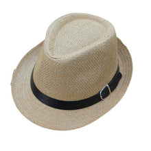 Load image into Gallery viewer, Children's Baby Summer Trilby Gangster Hat