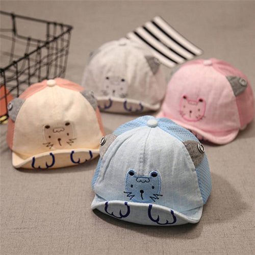 Cute Baby Hats Infant Kids Cartoon Tiger For Summer
