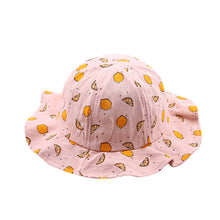 Load image into Gallery viewer, Baby Fruit Print Summer Hat