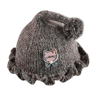Newborn Baby Cartoon Cat Beanie