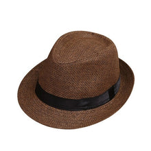 Load image into Gallery viewer, Children Kids Baby Summer Beach Straw Hat