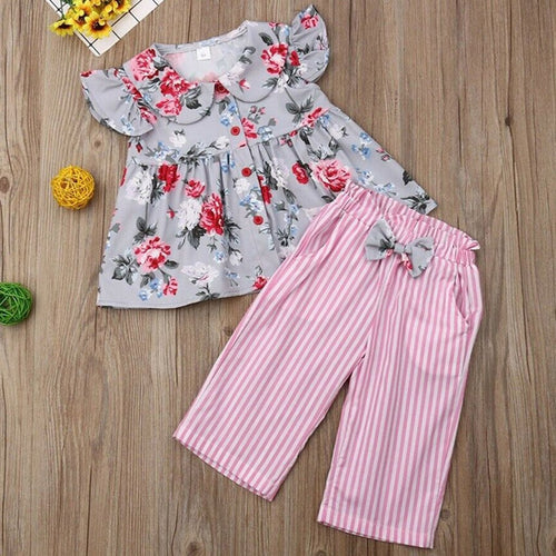 Baby Girl Floral Clothes