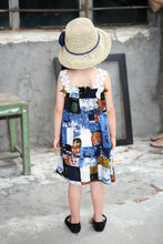 Load image into Gallery viewer, Girl Knee Length Summer Dress