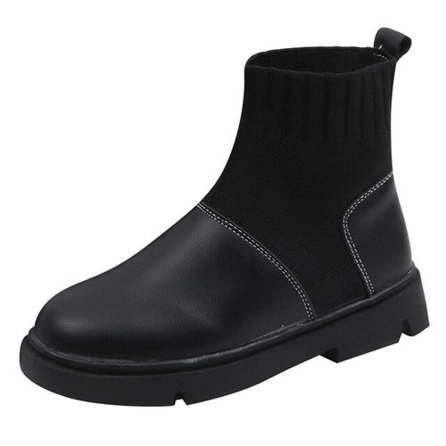 New Fashion British Style Solid Plus Shoe