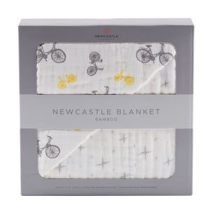 Vintage Bicycle and North Star Newcastle Blanket