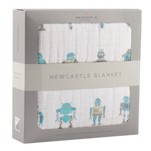 Load image into Gallery viewer, Robot Newcastle Blanket