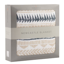 Load image into Gallery viewer, Pyramid Print Newcastle Blanket