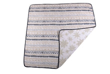 Load image into Gallery viewer, Pyramid Print and Star Anise Newcastle Blanket